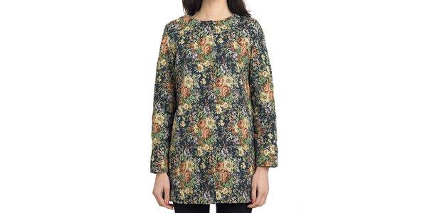 Dámský květinový kabátek Compania Fantastica