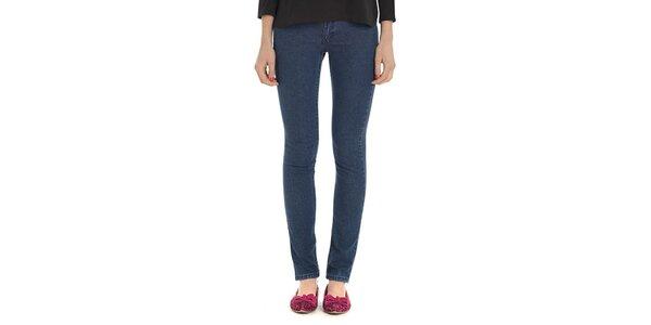 Dámské modré úzké kalhoty Compania Fantastica