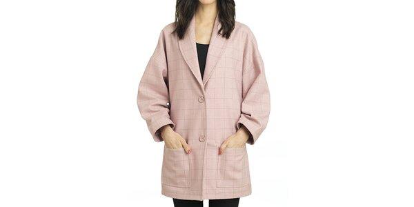 Dámský růžový oversized kabátek Compania Fantastica