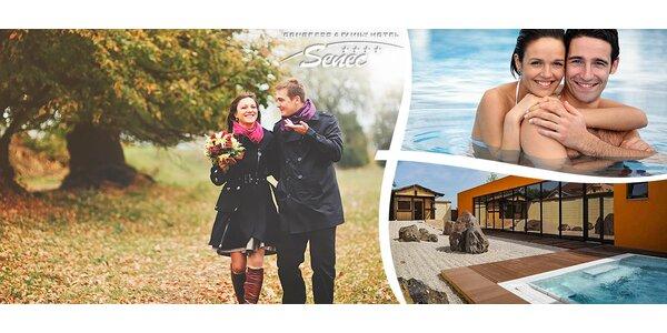 Wellness, aquapark a sport v hotelu Senec**** na Slunečných jezerech