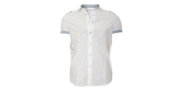 Ležérní pánská košile Energie v bílé barvě