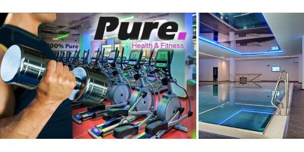 299 Kč za týdenní permanentku do luxusního fitness klubu Pure!