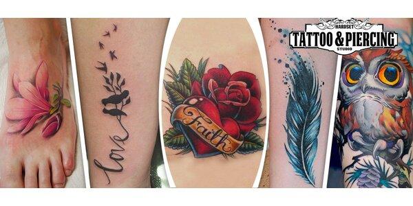 Originální kérka v předním tetovacím studiu
