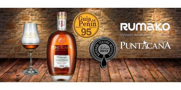 Kvalitní 12letý rum Puntacana Espléndido