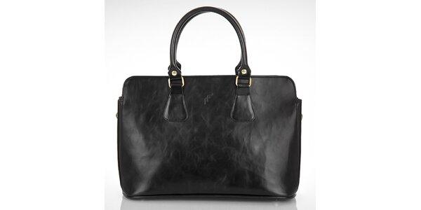 Dámská černá obdélníková kabelka Felice