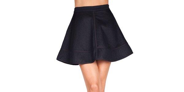Dámská černá sukně Sixie