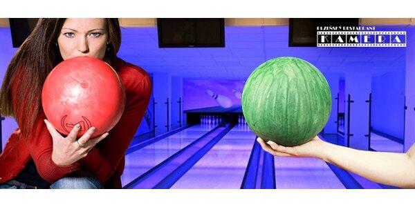 Bowling na 60 min. ve stylové restauraci Kamera