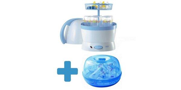 NUK Parní sterilizátor elektrický VAPO 2 v 1+NUK Sterilizátor do mikrovlnky…