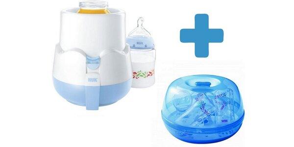 NUK Elektrická ohřívačka na kojenecké láhve THERMO RAPID+NUK Sterilizátor do…