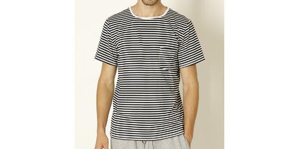 Pánské tričko s černými proužky Chaser