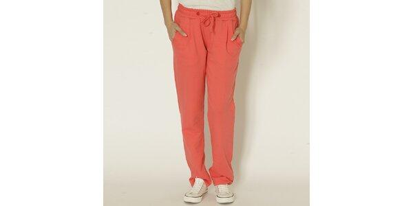 Dámské joggingové kalhoty v korálové barvě Chaser