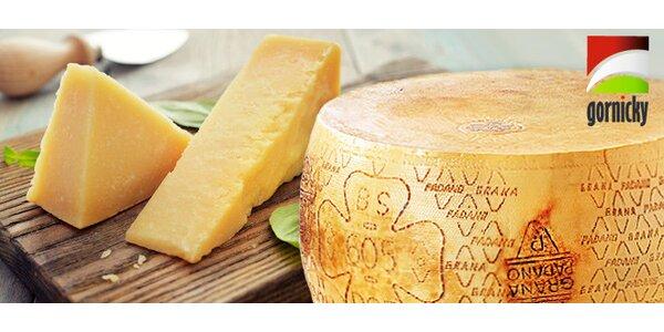 0,5 kg chutného italského sýra Grana Padano