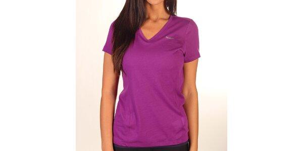 Dámské kombinované fialové tričko Reebok