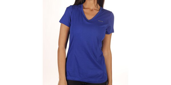 Dámské modré kombinované tričko Reebok