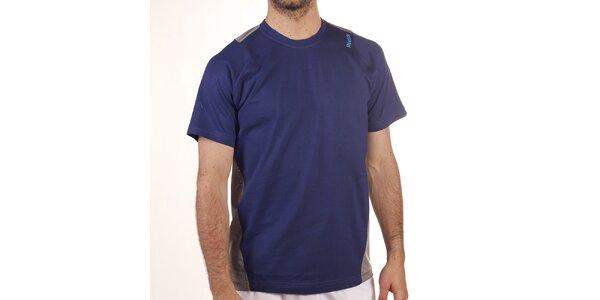 Pánské modro-šedé tričko s krátkým rukávem Reebok