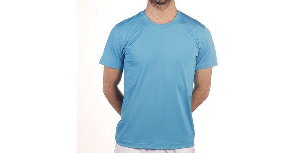Pánské elastické tričko v tyrkysové barvě Reebok