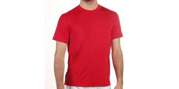 Pánské červené elastické tričko Reebok