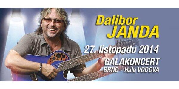 Dalibor Janda a skupina Prototyp - 27.11.2014 v Brně