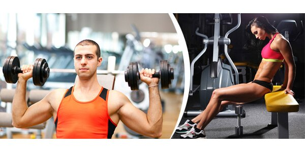 Jednorázový vstup nebo měsíční vstupová permanentka do fitness centra