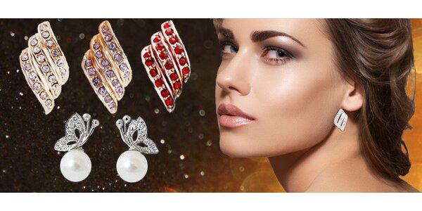 Náušnice nebo set s perlou dle výběru