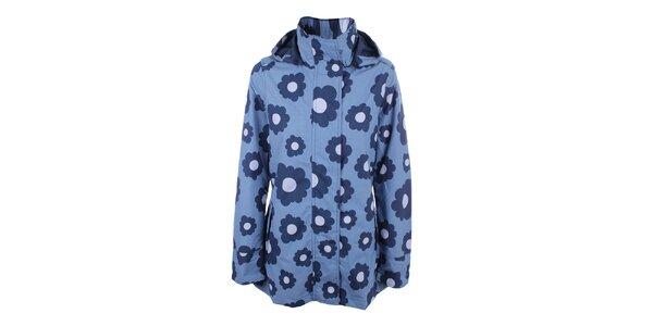 Dámská modrá bunda do deště Happy Rainy Days