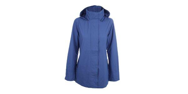 Dámská sytě modrá bunda do deště Happy Rainy Days