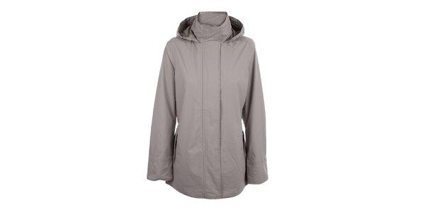Dámská béžová bunda do deště Happy Rainy Days