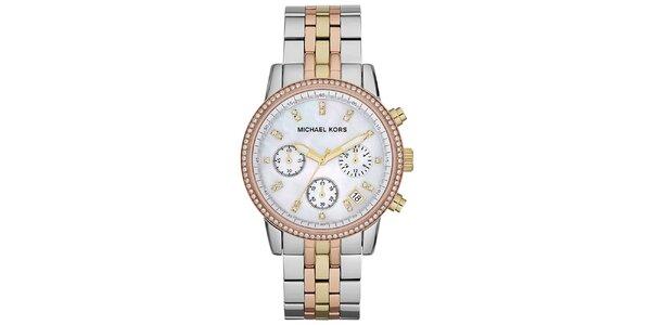 Dámské vícebarevné ocelové hodinky Michael Kors