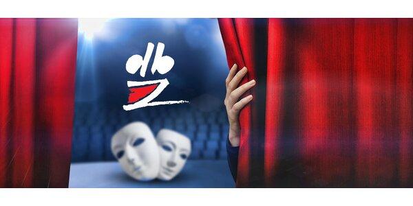 40% na nákup až 2 vstupenek do Divadla Bez zábradlí