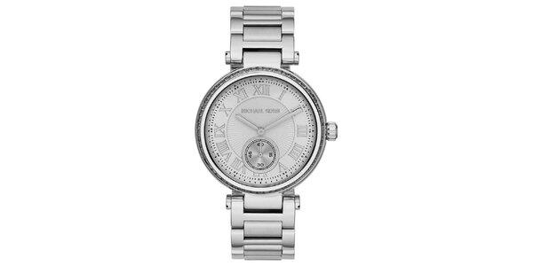 Dámské ocelové hodinky s římskými číslicemi Michael Kors