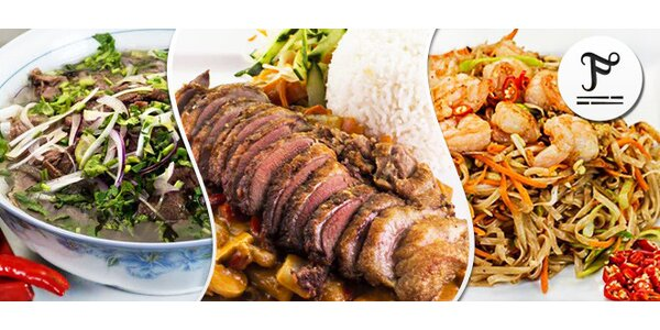 Libovolné asijské menu pro dva U Fugiho
