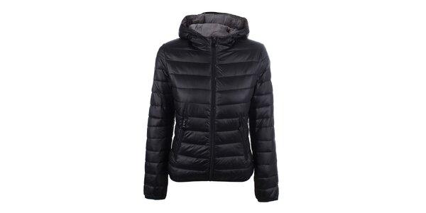 Dámská černá prošívaná bunda DJ85°C