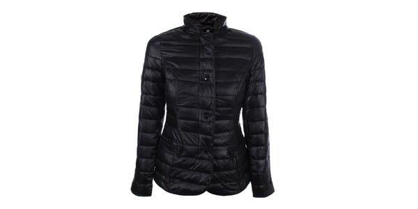Dámská černá prošívaná bunda se stojáčkem DJ85°C