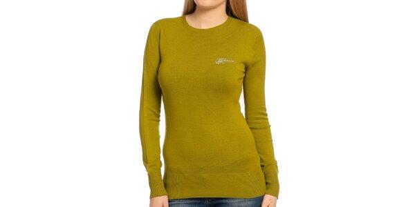 Dámský zelený svetr Galvanni