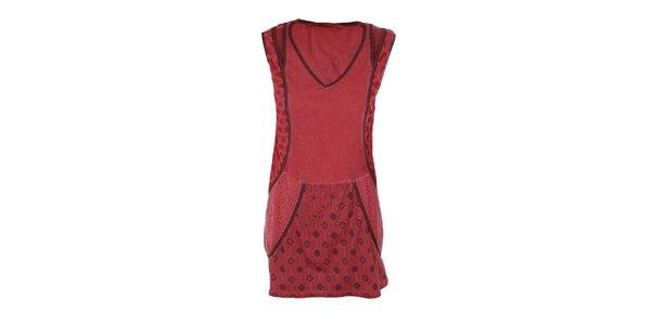 Dámské červené tunikové šaty Angels Never Die