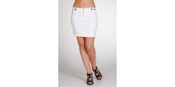 Dámská bílá sukně Stix