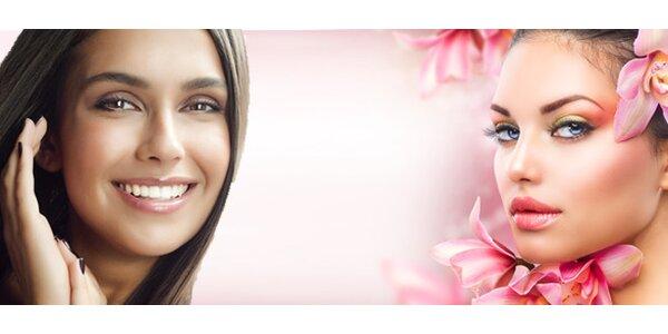 90 minutová kosmetická péče čistě přírodními výživovými přípravky s bohatou…