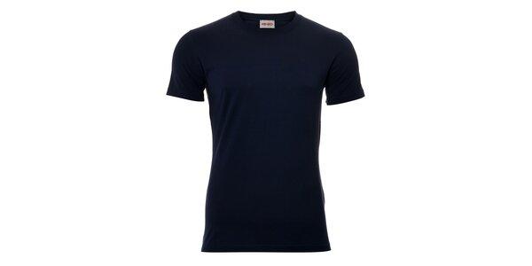 Pánské triko Kenzo v tmavě modré barvě s originálním potiskem na zádech