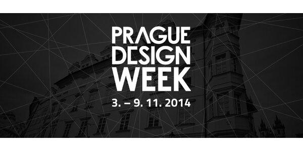 Přehlídka mladých českých návrhářů Prague Design Week