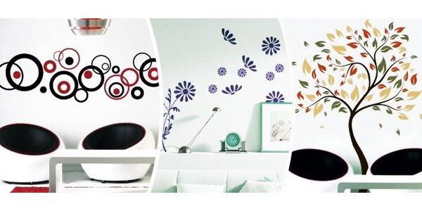Designové samolepky na zeď