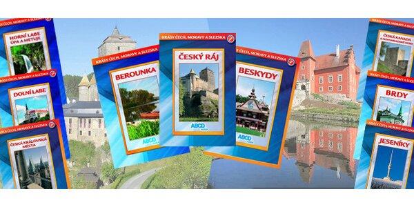 46 DVD z edice Krásy Čech, Moravy a Slezska.