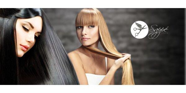 Dámský střih či prodloužení 100% přírodními lidskými vlasy
