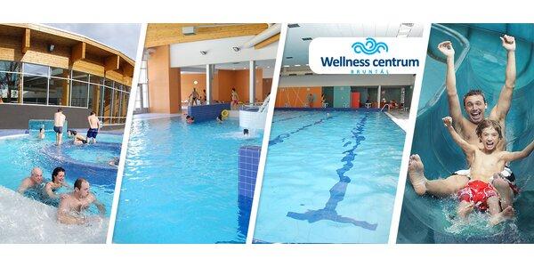 Vstupy do Wellness centra Bruntál - jednotlivé i rodinné