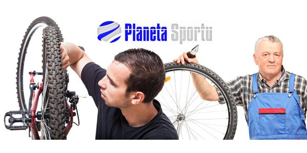 Malý nebo velký podzimní servis kola v Planetě Sportu + zámek Longus zdarma