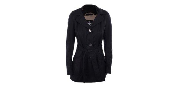 Dámský černý jednořadý kabátek Halifax