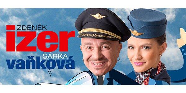 "Zdeněk Izer a Šárka Vaňková s show ""Furtluftdurch tour"""