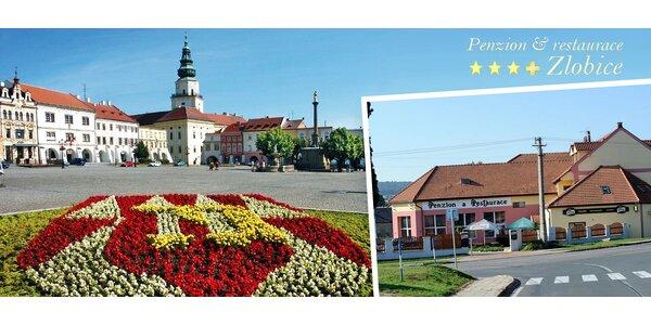 Až 4 dny u Kroměříže s wellness i degustací vína