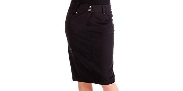 Dámská černá sukně s kapsami Keysha