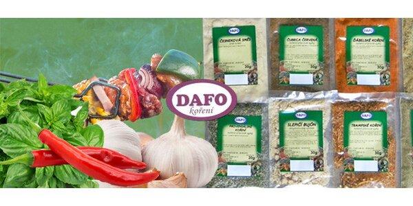 Balíček kvalitního koření - základní druhy nebo mix kořenicích směsí