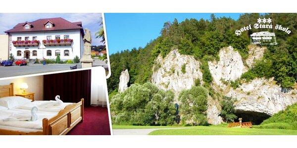 3-4denní relax pro dva v Moravském krasu